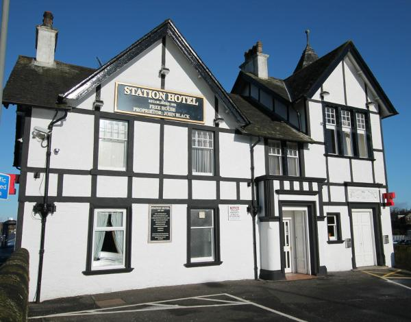 Station Hotel in Larbert, Stirlingshire, Scotland