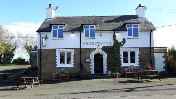 White Swan Inn in Belford, Northumberland, England