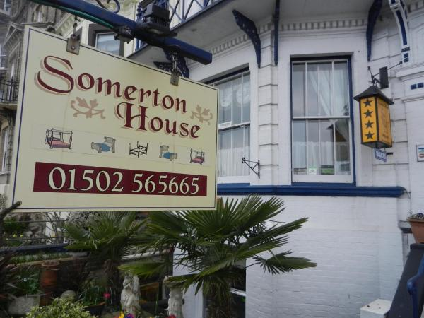 Somerton Guest House in Lowestoft, Suffolk, England