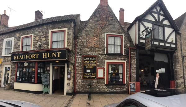 The Beaufort Hunt in Chipping Sodbury, Gloucestershire, England