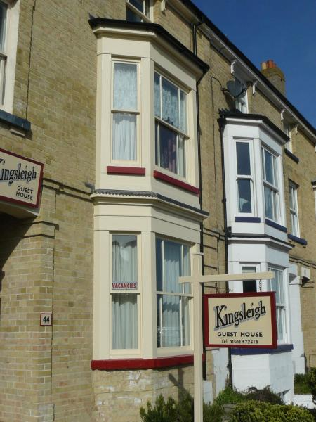 Kingsleigh Guest House in Lowestoft, Suffolk, England