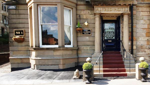 The Alfred in Glasgow, Lanarkshire, Scotland