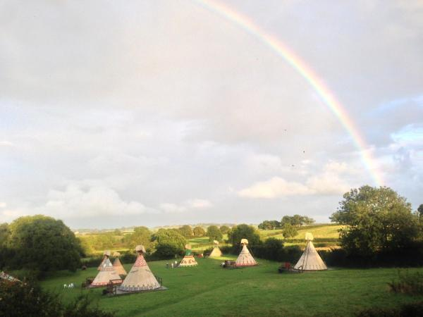 Big Sky Tipi Holidays in Wartling, East Sussex, England