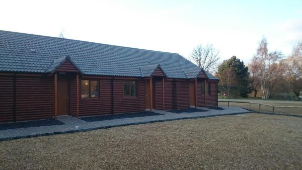 Woodland Rooms at Woodland Waters in Ancaster, Lincolnshire, England
