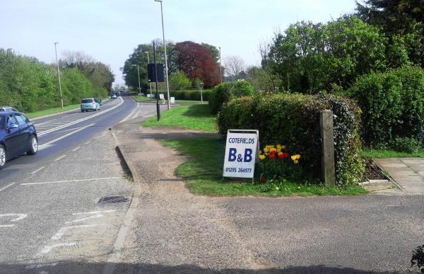 Cotefields B&B in Banbury, Oxfordshire, England