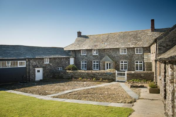 Trevigue Farm in Crackington Haven, Cornwall, England