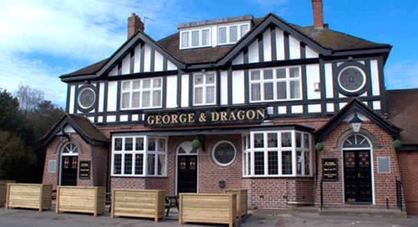 George & Dragon in Coleshill, Warwickshire, England