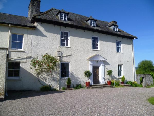 Aberllynfi House in Glasbury, Powys, Wales