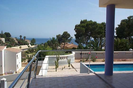 Seven-Bedroom Apartment in Moraira with Pool I