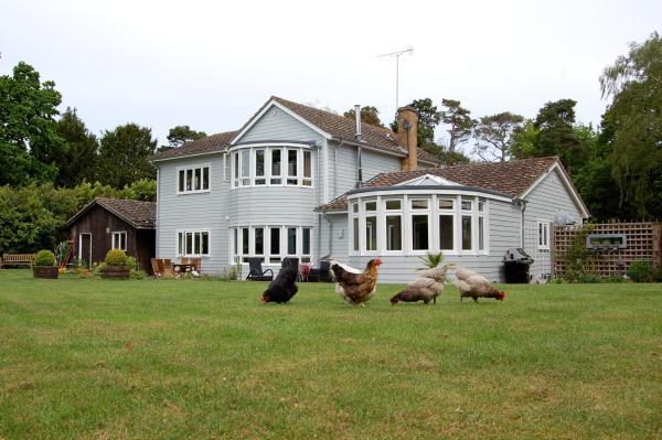 Hare Lodge in Peasenhall, Suffolk, England