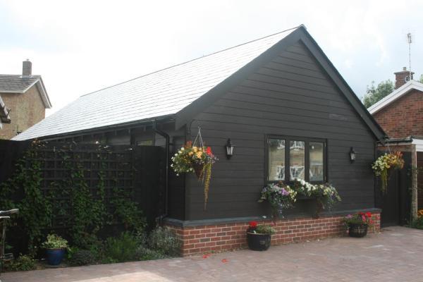 The Studio at Flint Cottage in Balsham, Cambridgeshire, England