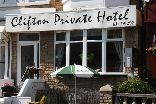 Clifton Private Hotel in Blackpool, Lancashire, England