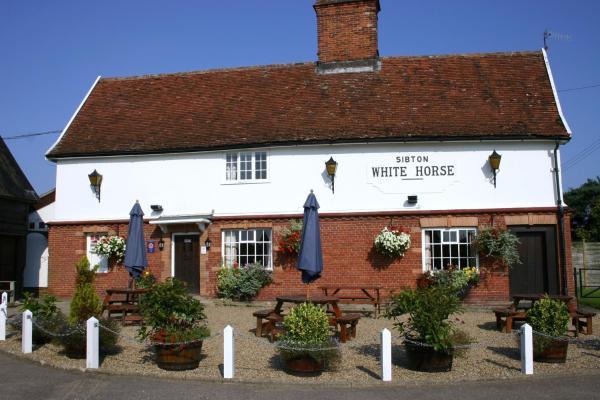 Sibton White Horse Inn in Saxmundham, Suffolk, England