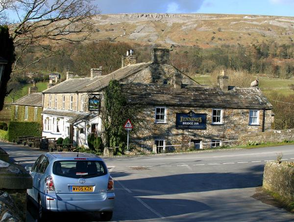 The Bridge Inn in Reeth, North Yorkshire, England