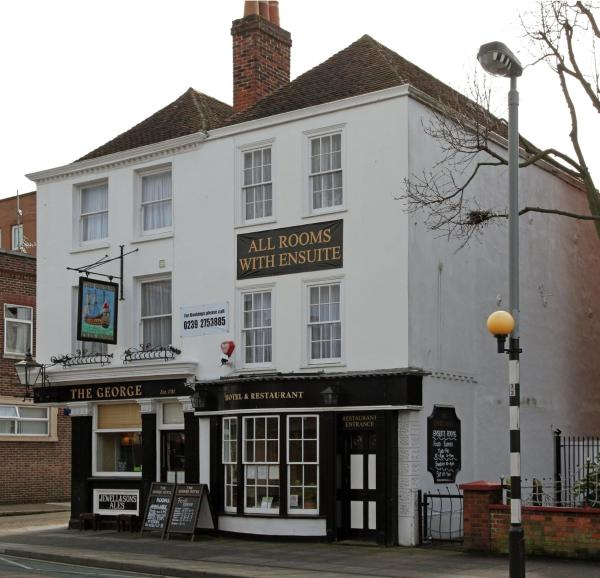 The George Hotel in Portsmouth, Hampshire, England