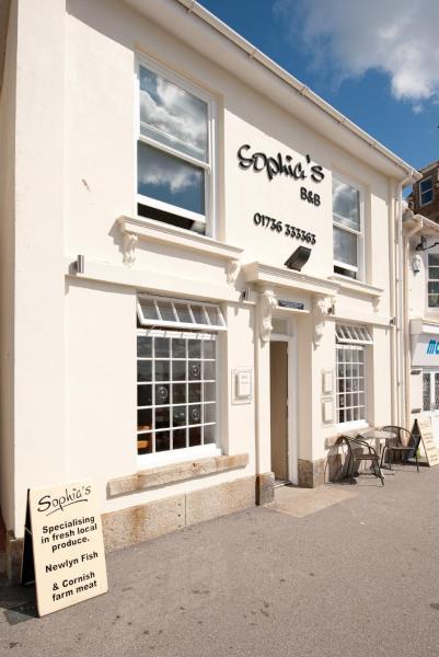 Sophia's B&B in Penzance, Cornwall, England