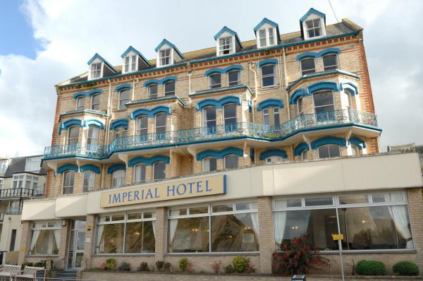 Imperial Hotel in Ilfracombe, Devon, England