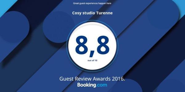 Cosy studio Turenne