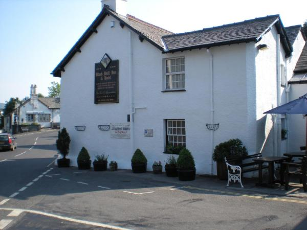 The Black Bull Inn and Hotel in Coniston, Cumbria, England