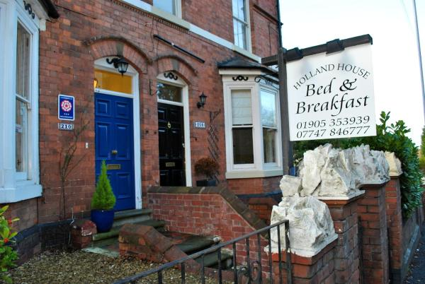 Holland House Bed & Breakfast in Worcester, Worcestershire, England