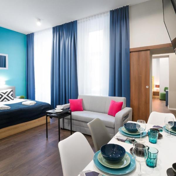 Kings City - Sławkowska Apartments