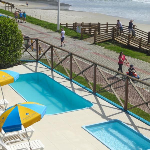 Residencial Vila do Sol, Apartamentos com pé na areia