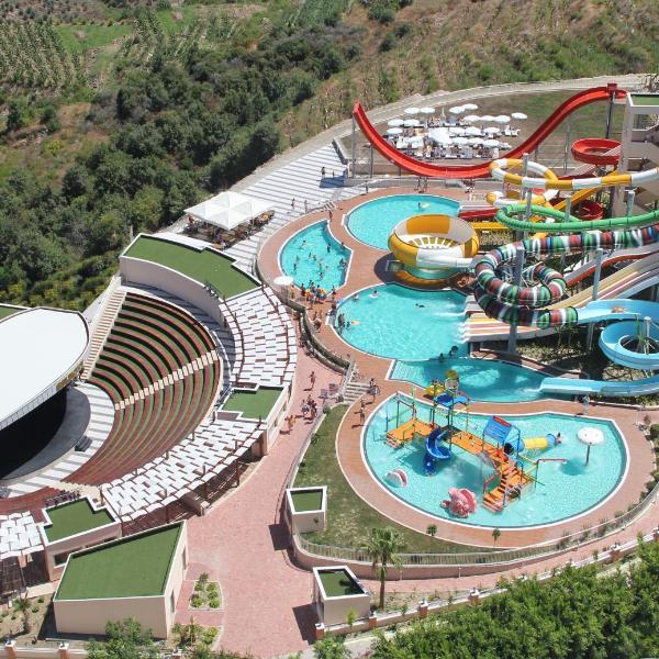 Gold City 1+1 Villa in Free Aquapark