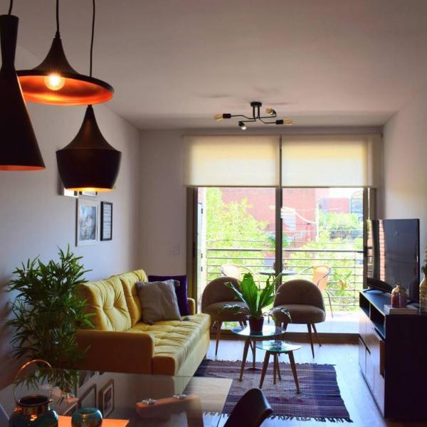 Luminoso y amplio departamento 2 ambientes en Palermo Hollywood