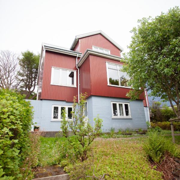 3 storey, 5 bedroom, 3 bathroom house in the center of Tórshavn
