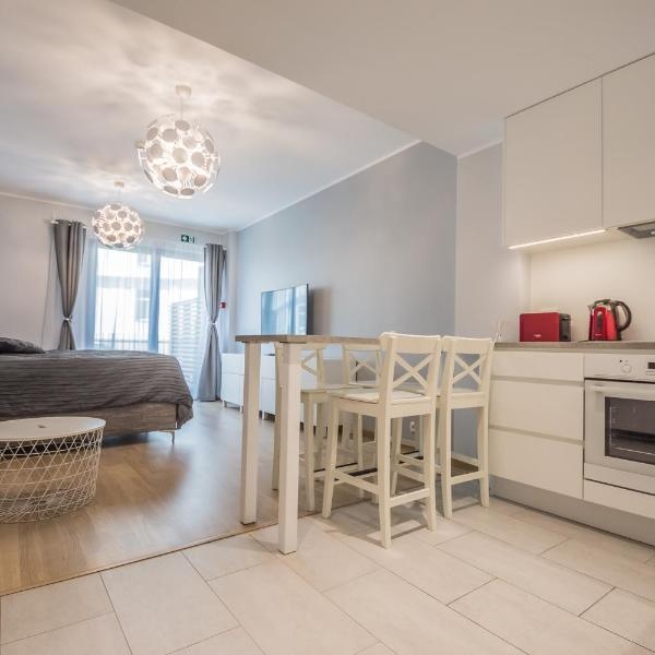 Luxury studio apartment with self check-in & free wifi