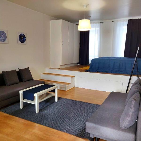 Spacious 44m2 STUDIO apartment in Helsinki city center