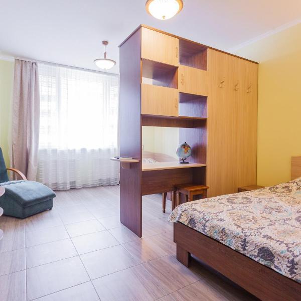 Солнечная квартира на Ломоносова 71, ВДНХ