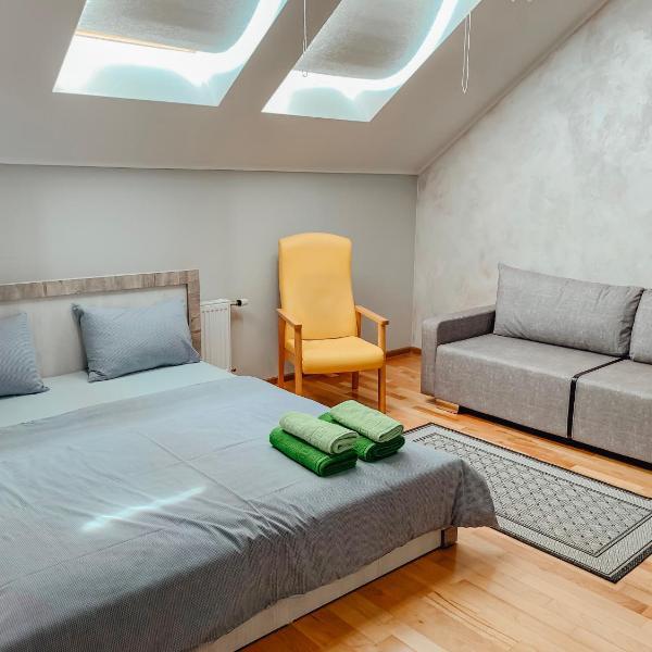 """Сеть апартаментов """"CHILPIL"""" в центре - дистанционное заселение - 24x7"""