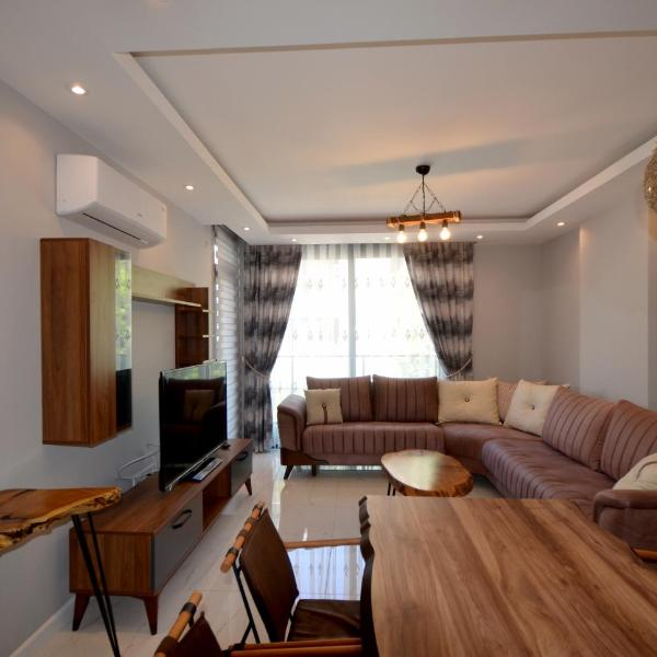 Alanya Cleopatra Beach Luxury Apartment 7 in Hygienic Condition