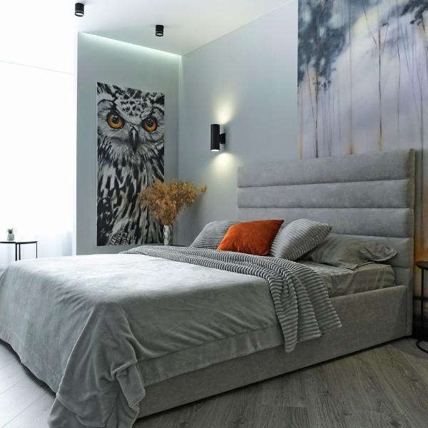 Посуточно дизайнерская квартира с элементами loft Сова