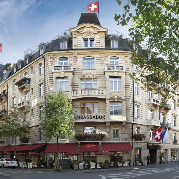 Small Luxury Hotel Ambassador Zurich