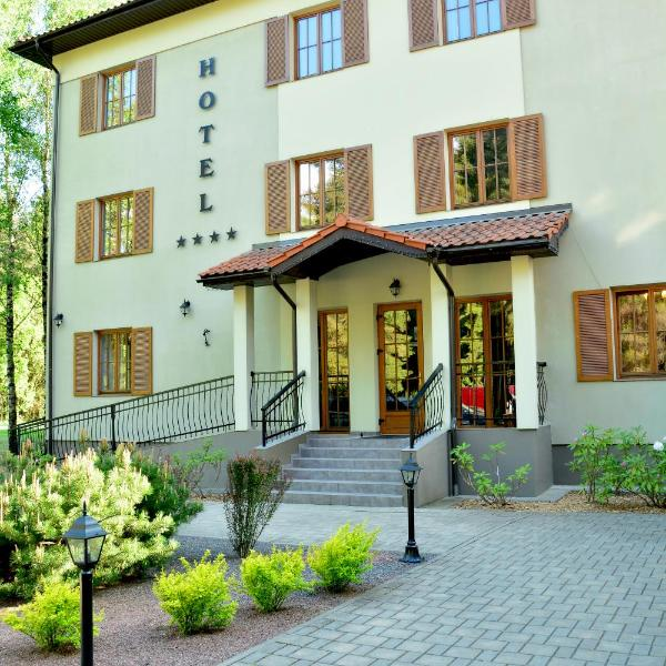 Hotel Pušyno Namai